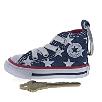 Converse All Star Chuck Taylorスニーカーシューズ車キーリングキーチェーン USA