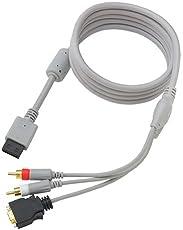 CYBER・D端子ケーブル (Wii用)