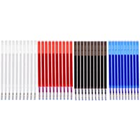 Fityle 高温消え ペン 替芯  詰め替え用 裁縫 ファブリック 標識用 高温イレース リフィルペン 4色 合計約40本入り