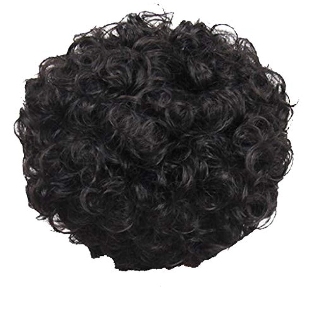 香り祝う管理しますかつら、女性、短い髪、巻き毛、かつら、エルフカット、かつらキャップ、27cm