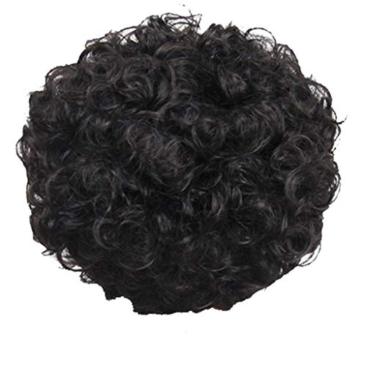 ランクレンディションスピリチュアルかつら、女性、短い髪、巻き毛、かつら、エルフカット、かつらキャップ、27cm