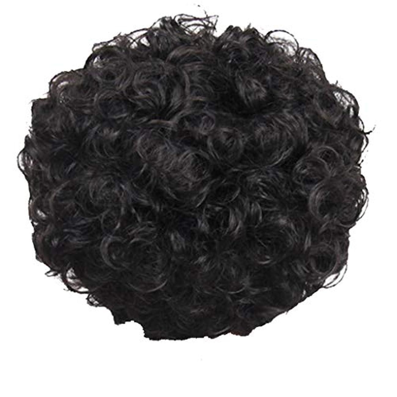 中庭嫌い後世かつら、女性、短い髪、巻き毛、かつら、エルフカット、かつらキャップ、27cm