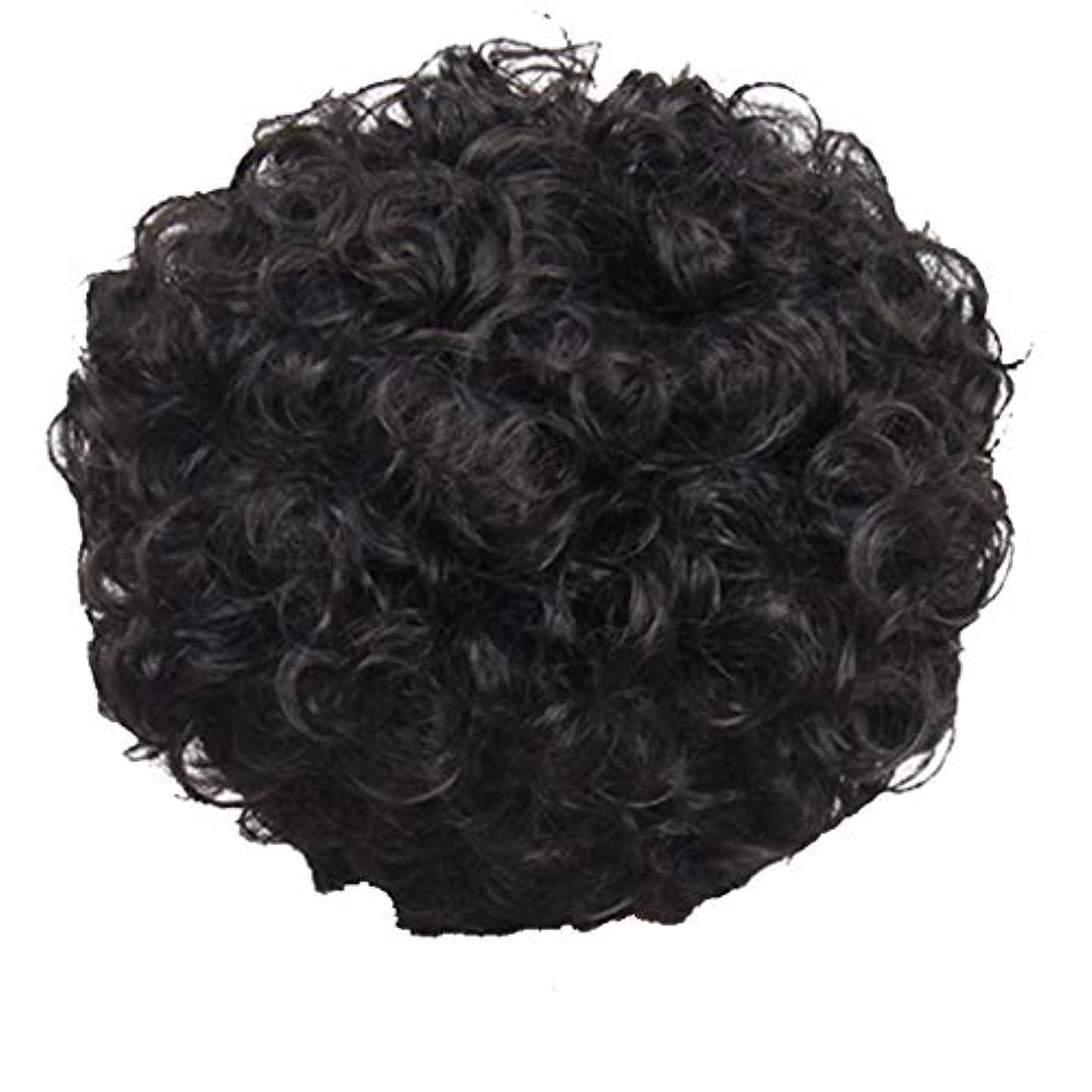 物理傘残忍なかつら、女性、短い髪、巻き毛、かつら、エルフカット、かつらキャップ、27cm