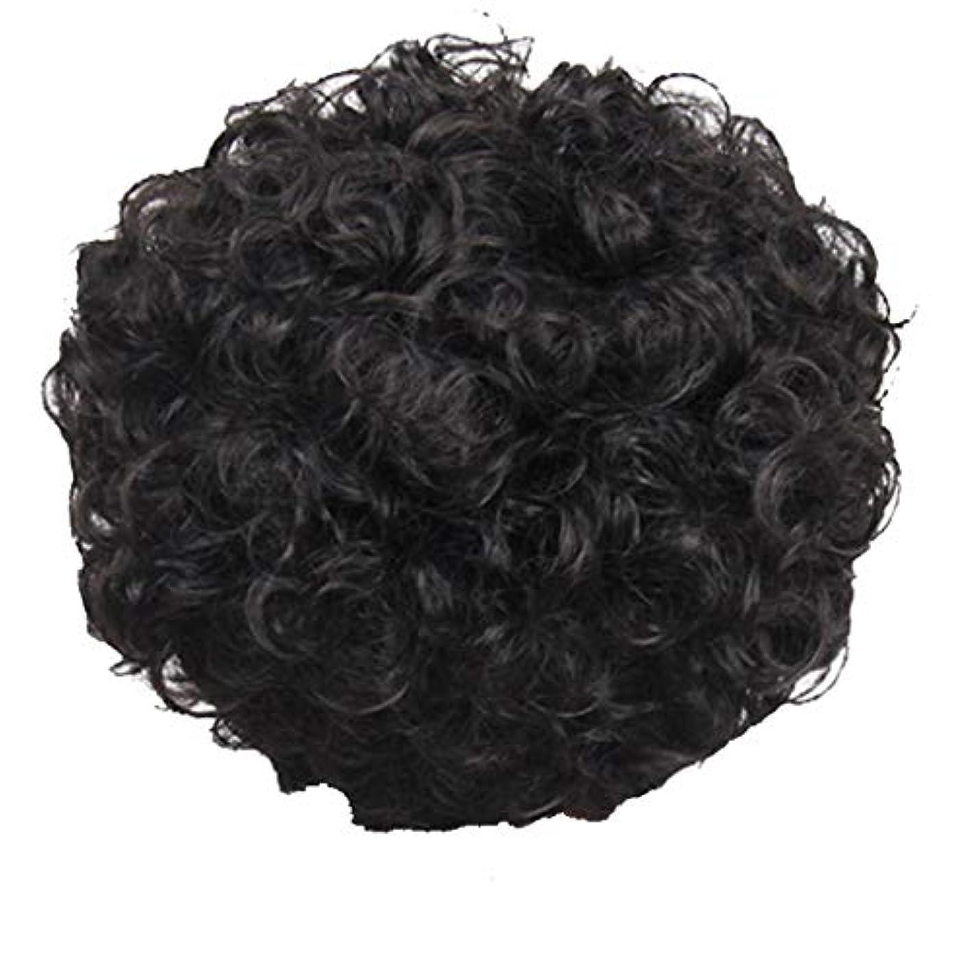 ノミネート暗黙ピニオンかつら、女性、短い髪、巻き毛、かつら、エルフカット、かつらキャップ、27cm