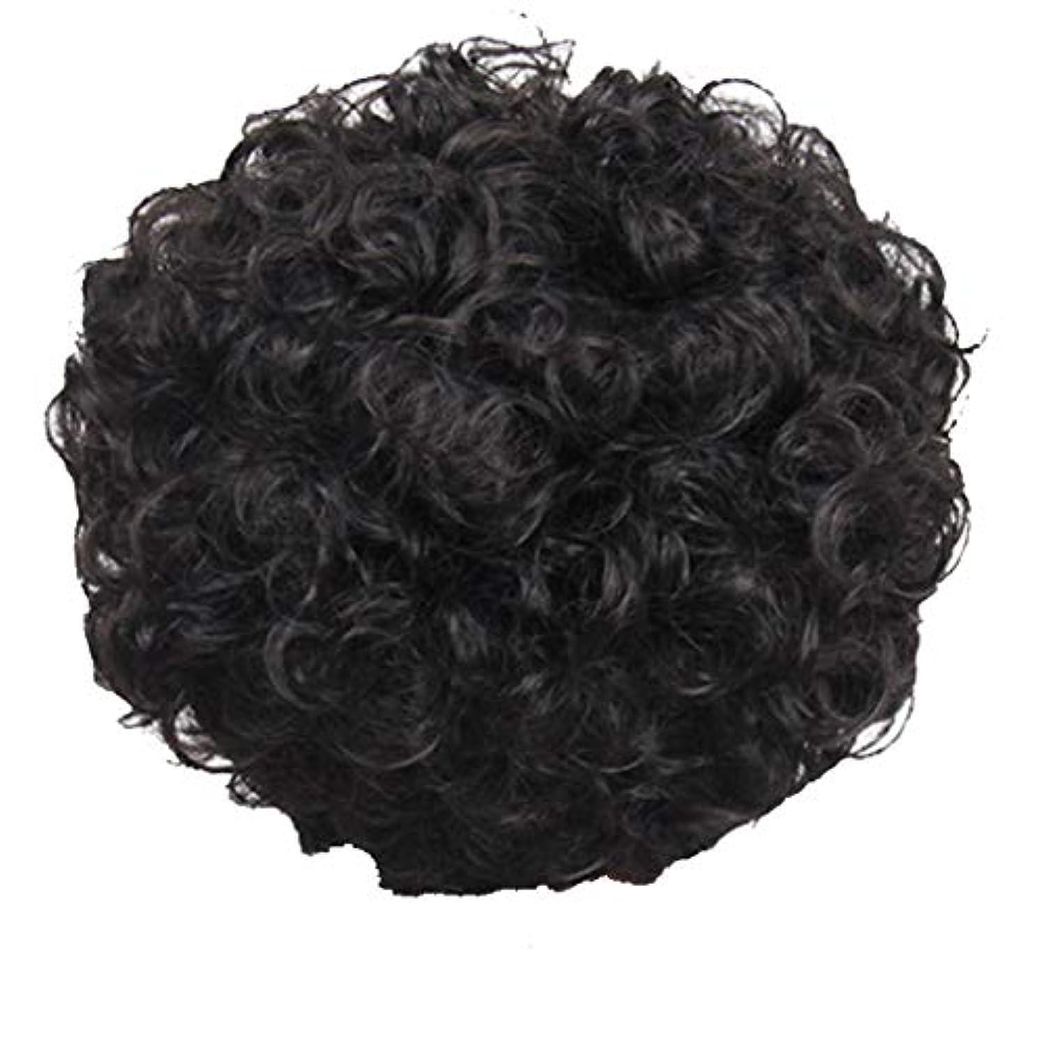 説明的ペネロペセンブランスかつら、女性、短い髪、巻き毛、かつら、エルフカット、かつらキャップ、27cm