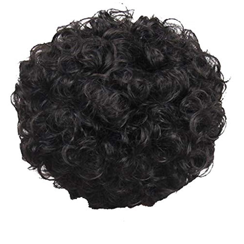 マキシムやけどアライメントかつら、女性、短い髪、巻き毛、かつら、エルフカット、かつらキャップ、27cm