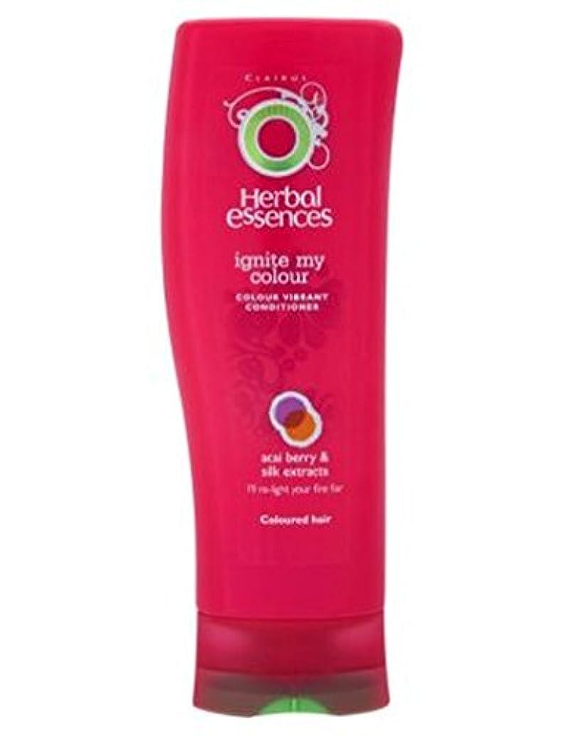 水平エッセイ定規ハーブエッセンスは、私の色の400ミリリットルを点火コンディショナー (Herbal Essences) (x2) - Herbal Essences Conditioner Ignite My Colour 400ml...