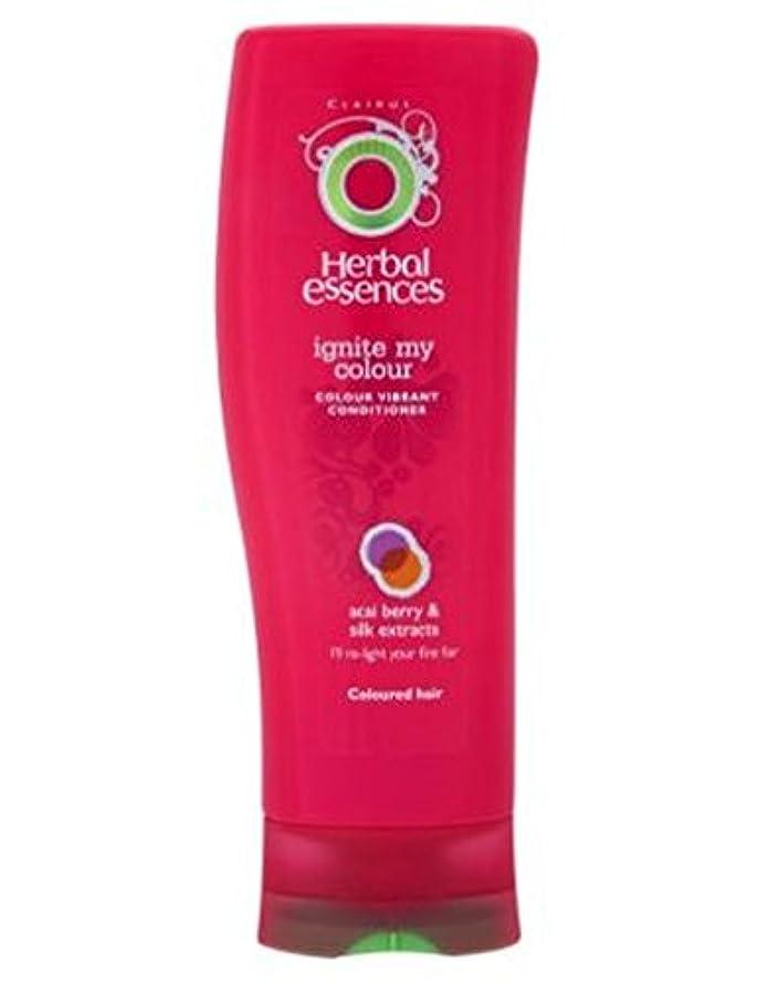 Herbal Essences Conditioner Ignite My Colour 400ml - ハーブエッセンスは、私の色の400ミリリットルを点火コンディショナー (Herbal Essences) [並行輸入品]