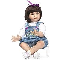 24インチ60 cm磁気Lovely SanyDoll Rebornベビー人形ソフトSilicone Lifelike Cute Lovely Baby b0763lgwg7