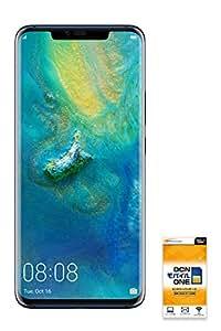 HUAWEI Mate 20 Pro 【OCNモバイルONE SIM付】 (音声・SMS・データ共通SIM, ミッドナイトブルー)
