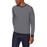 Tommy Hilfiger Men's Stripe Crew Neck Jumper