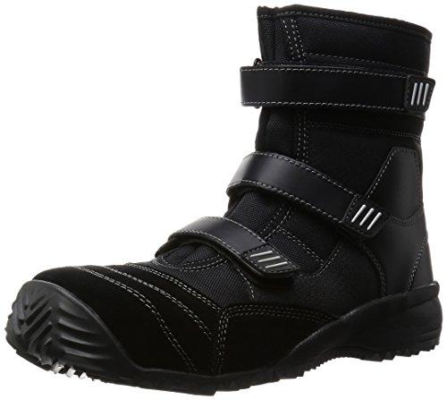 [ミドリ安全] 作業靴 長編上 TS125 TS125 ブラック(ブラック/24.5)