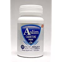 カルニチンAslim 24000mg BCAA アルギニン 6000mg 180粒 ギムネマ カプサイシン 計8種成分配合! ダイエット サプリメント