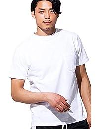"""(グッドウェア)Goodwear メンズ 半袖 Tシャツ クルーネック ヘビーウェイト ポケット 無地""""2W7-2500""""【+】"""