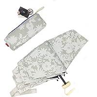 日傘 折りたたみ Emmua 晴雨兼用 折りたたみ傘 レディース軽量 折り畳み 100% 完全遮光 UPF50+ 折りたたみ日傘 紫外線 uvカット 遮光 遮熱 人気 かわいい おしゃれ