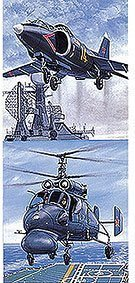 1/700 ウォーターライン No.513 ロシア艦載機