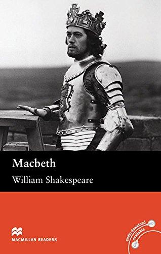 Macbeth - Book and Audio CD Pack - Upper Intermediate (Macmillan Readers)