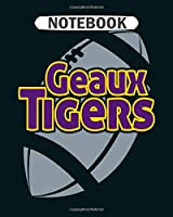 Notebook: tigers  College Ruled - 50 sheets, 100 pages - 8 x 10 inches
