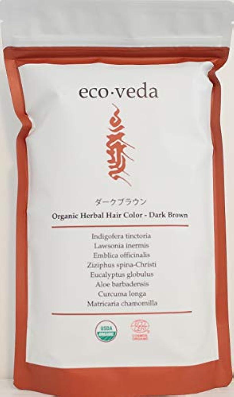 【ヘナ】オーガニックハーバルヘアカラー ダークブラウン