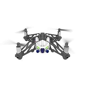 【国内正規品】Parrot ドローン Minidrones Airborne Cargo Mars ドローン規制対象外200g未満 組立ブロック装着可能 フリーフォールモード機能 ホワイト PF723331