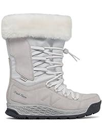 (ニューバランス) New Balance 靴?シューズ レディースウォーキング Fresh Foam 1000 Boot White with Lead ホワイト リード US 5.5 (22.5cm)