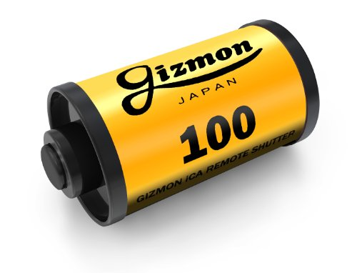 GIZMON Apple au SoftBank iPhone iPad iPod Touch対応 ケーブルレリーズ GIZMON iCA REMOTE SHUTTER K / イエロー 10491