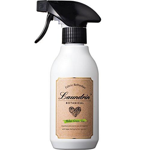 ランドリン ボタニカル ファブリックミスト リラックスグリーンティーの香り 300ml