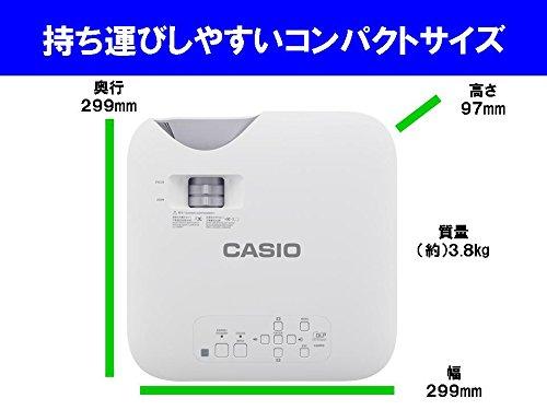 カシオ プロジェクター XJ-F10X (3,300lm XGA)