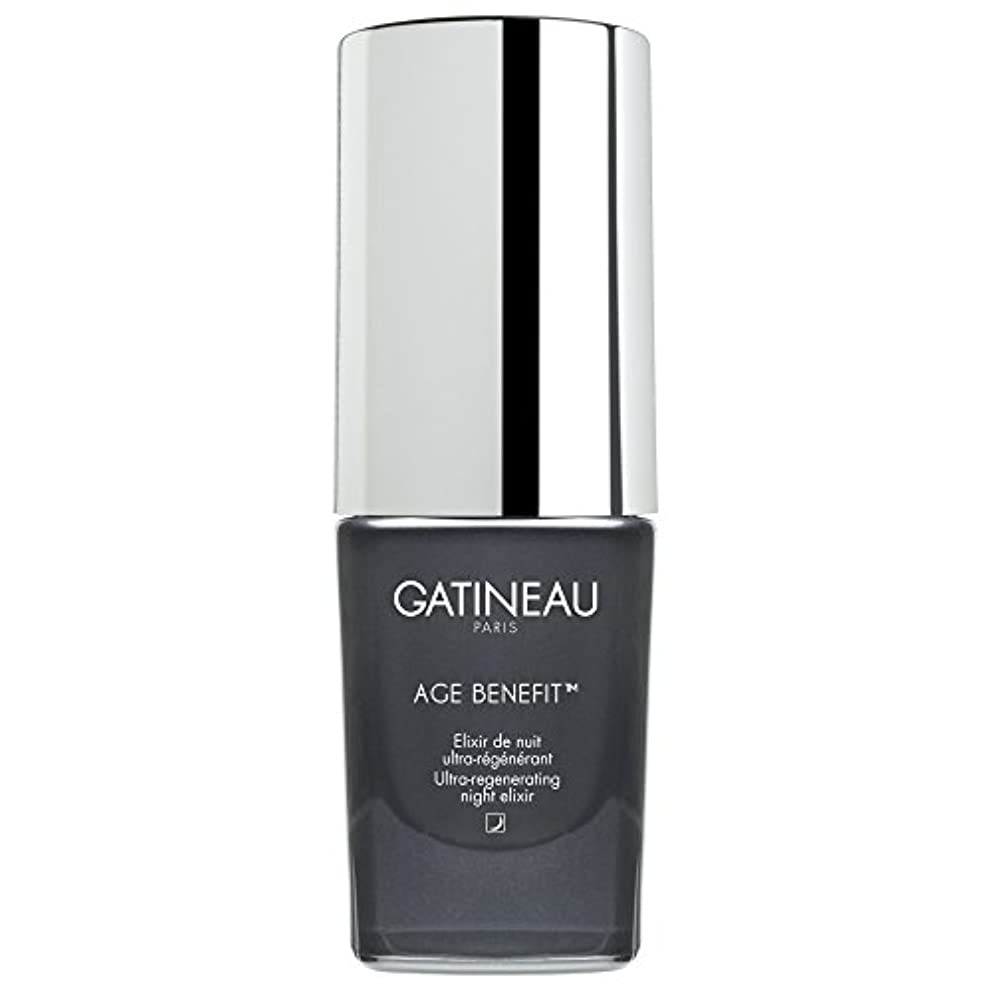 あらゆる種類のレルム側ガティノー年齢給付超再生夜のエリクシルの15ミリリットル (Gatineau) (x6) - Gatineau Age Benefit Ultra-Regenerating Night Elixir 15ml (Pack...