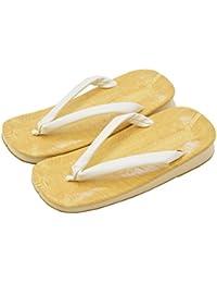 雪駄 単品 雪駄 ビニール黄畳表 白花緒 サンド底 L スポンジクッション底 Lサイズ 日本製 メンズ