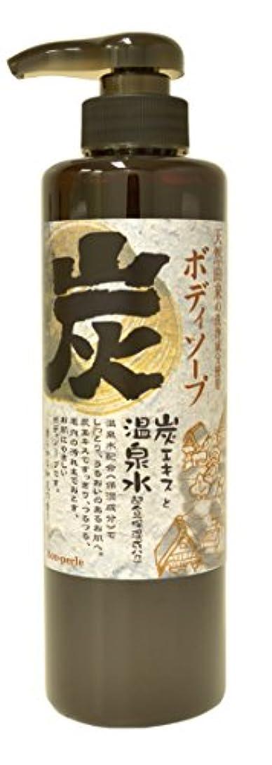祈り実業家豆腐フィード(Ffid) スパミネラル 炭ボディソープ 500g 4530212052697