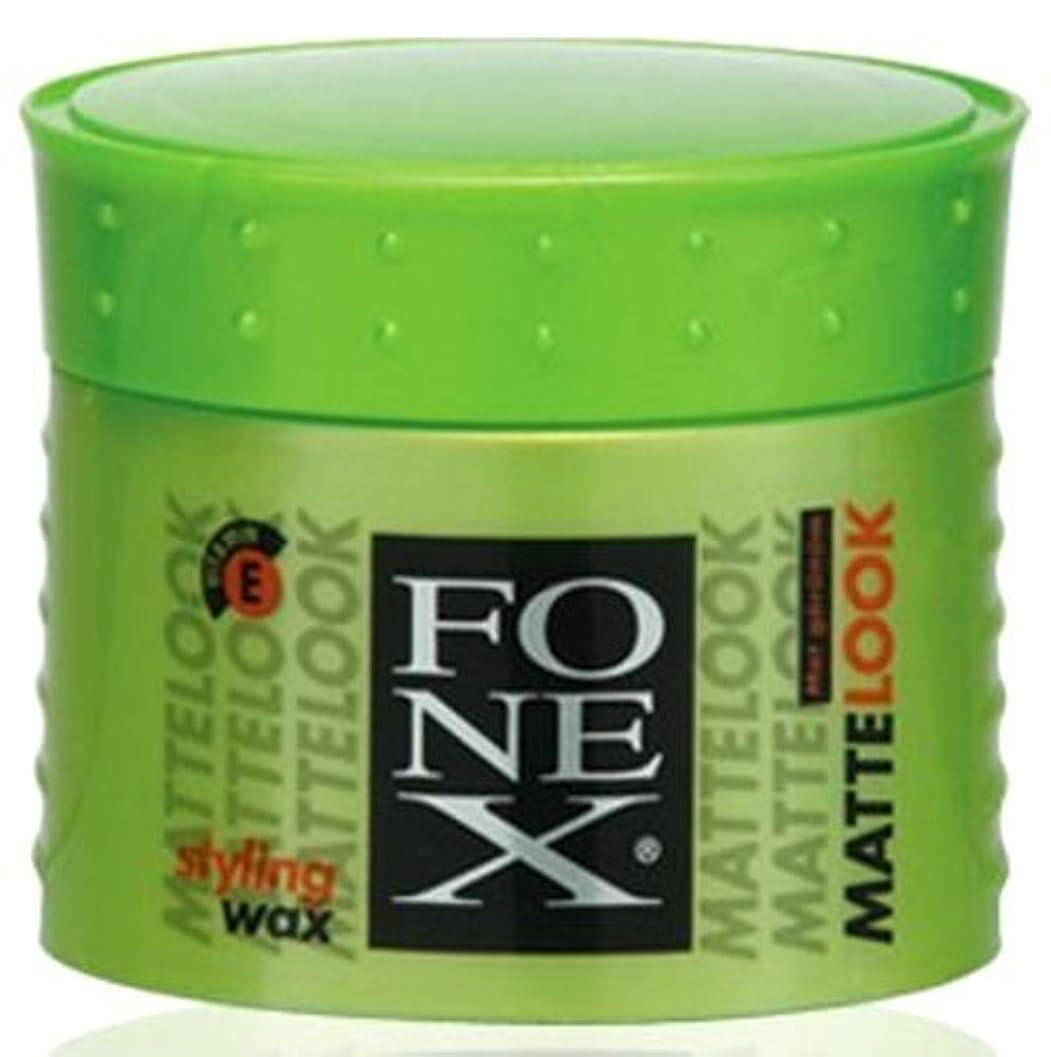 引退した枢機卿取り替えるFONEX MATTE LOOK HAIR STYLING WAX 100ML by FONEX [並行輸入品]