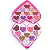 [I Heart Revolution ] 私は心の革命のハートビートアイシャドウパレット - I Heart Revolution Heartbeat Eye Shadow Palette [並行輸入品]