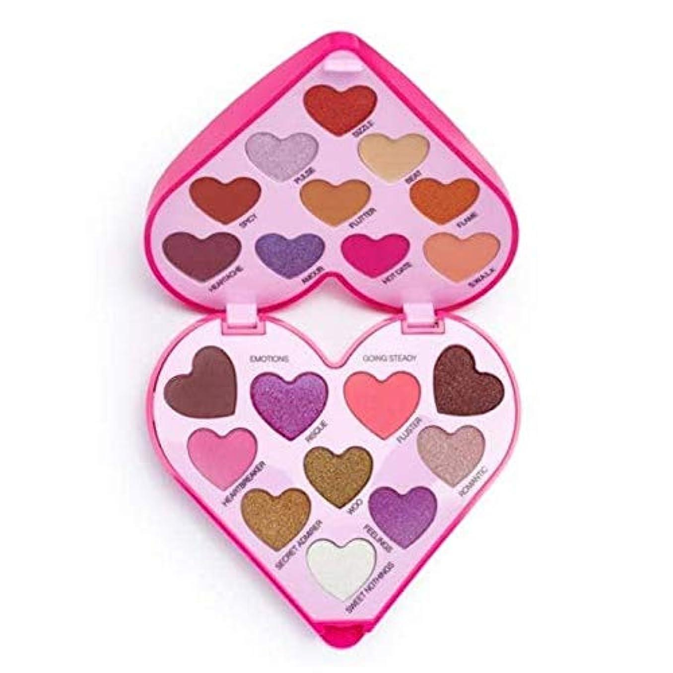 件名水素プロテスタント[I Heart Revolution ] 私は心の革命のハートビートアイシャドウパレット - I Heart Revolution Heartbeat Eye Shadow Palette [並行輸入品]