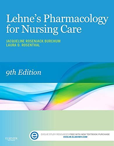 Download Lehne's Pharmacology for Nursing Care, 9e 0323321909