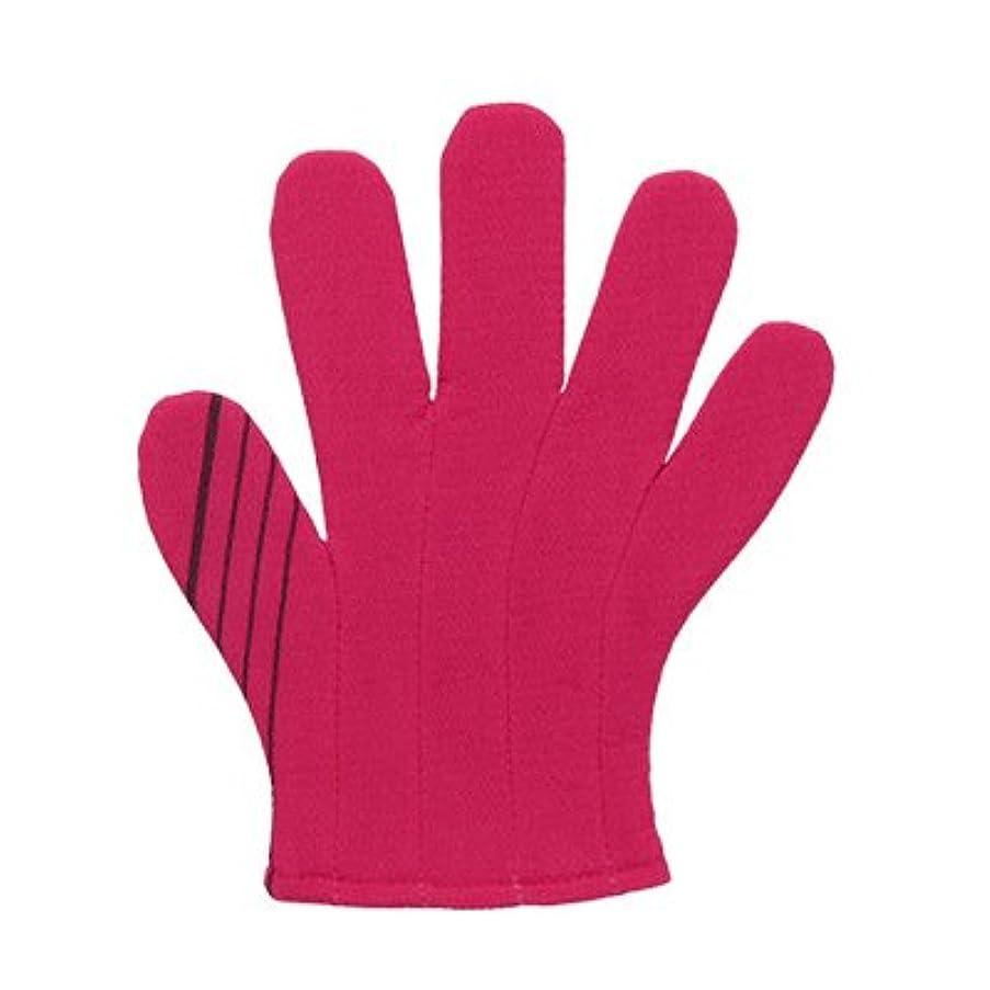 渦はっきりしないリファインノーブランド品 韓国あかすりタオルC(1個)カラー:濃ピンク