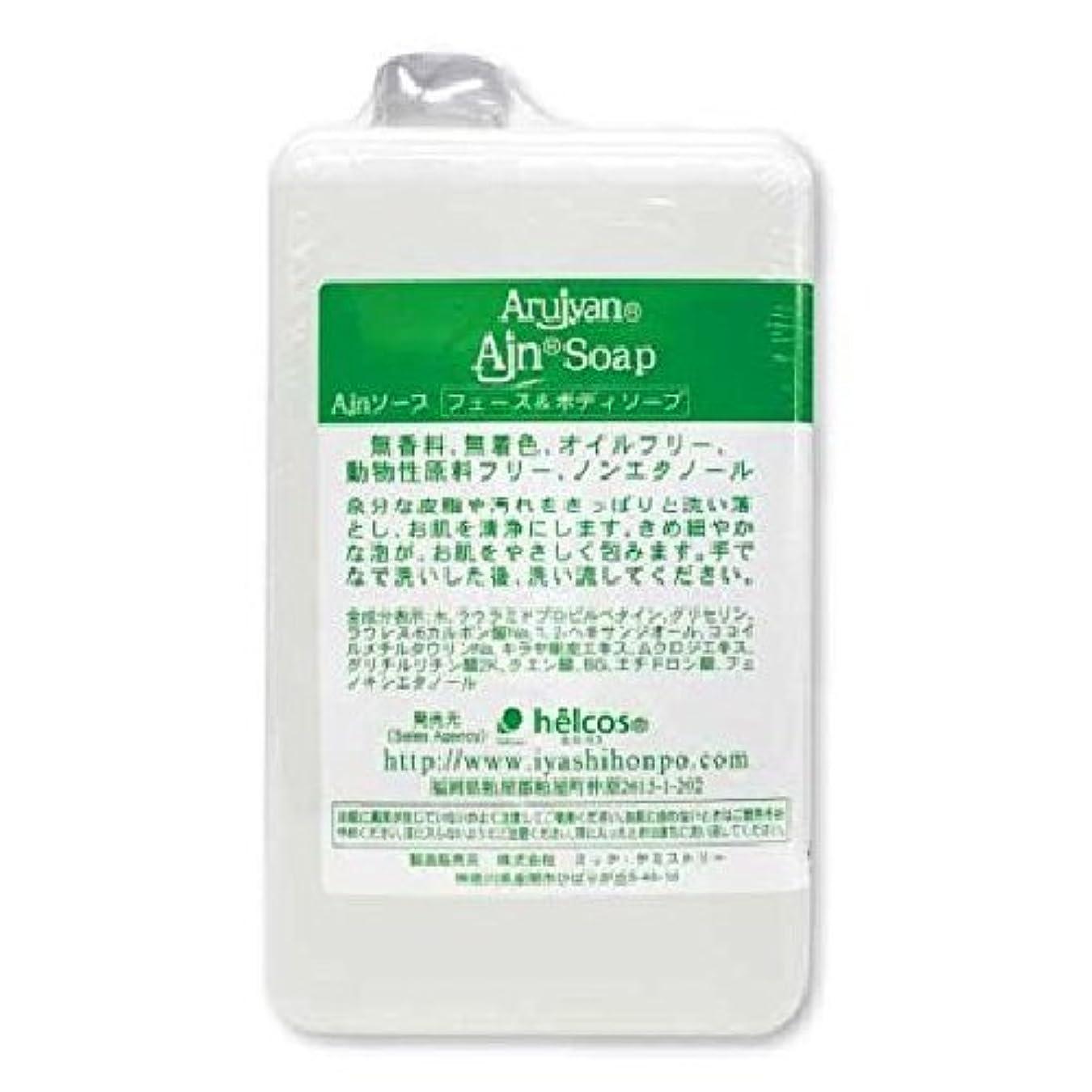 テンポ想定するオリエントマツエク 泡洗顔 オイルフリー アルジャンソープ 1000mL 詰め替え用 まつげエクステ