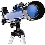 望遠鏡 天体望遠鏡50Azプロフェッショナルを見る深宇宙Hd子供学生小入学レベル初心者