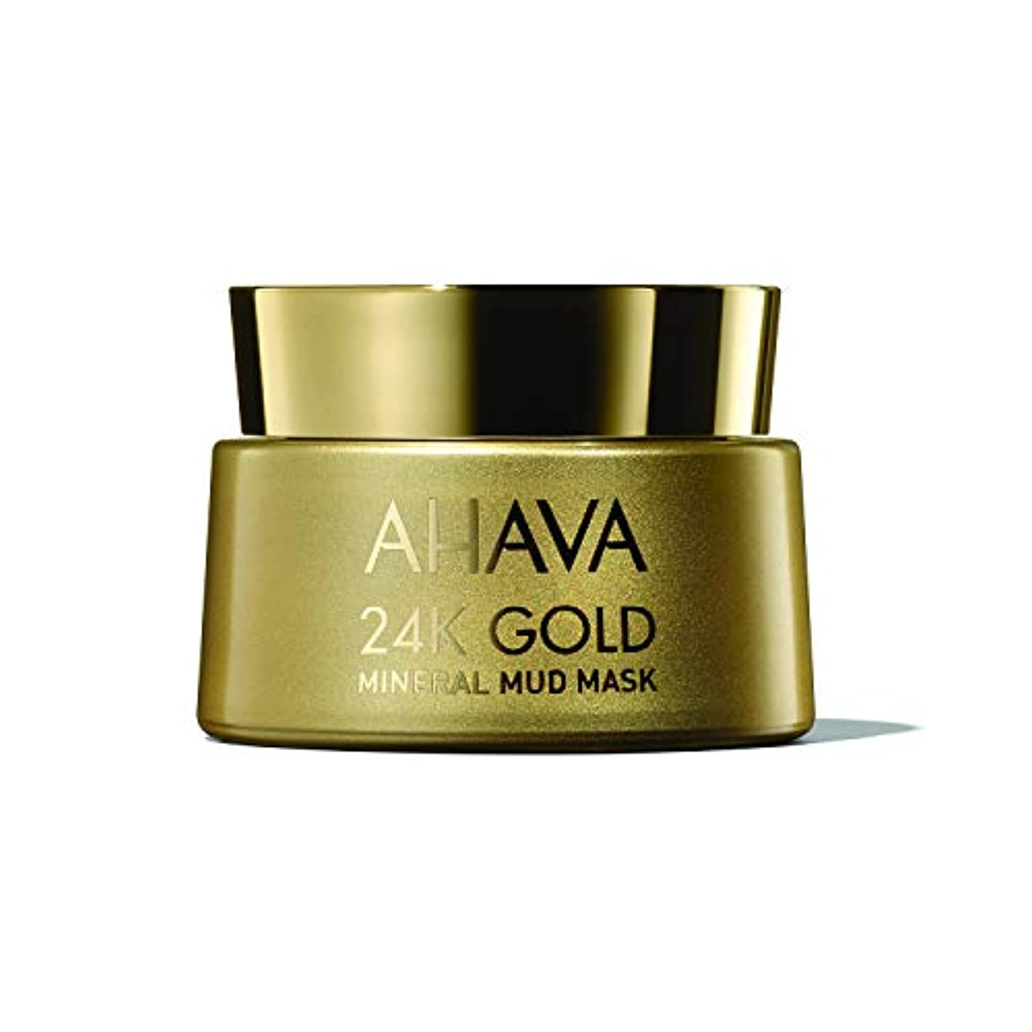 以内に灌漑民間アハバ 24K Gold Mineral Mud Mask 50ml/1.7oz並行輸入品