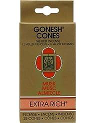円錐incense-goneshムスク