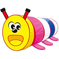 Baoblaze 子供ゲームのため 漫画キャタピラ トンネルおもちゃ プレーテント ディスカバリーチューブ ギフト