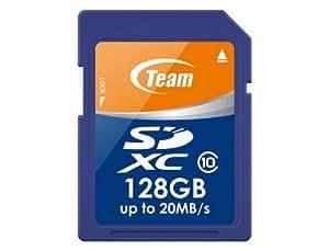Team SDXCカード Class 10 ECOパッケージ 10年保証 (128GB)