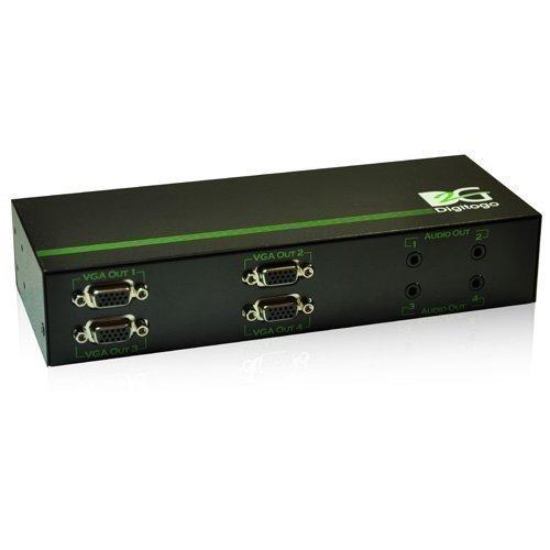 Digitogo SPシリーズ 1入力4出力VGA/音声分配器 SP-VS104A