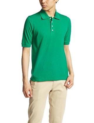 Cotton Pique Polo Shirt 1117-248-1716: Kelly