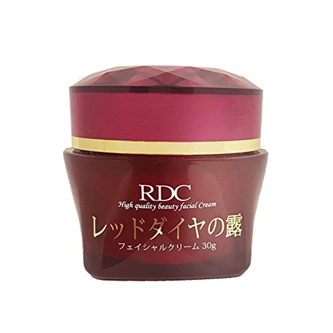 受賞クランプ保持レッドダイヤの露 フェイシャルクリーム 保湿乳液 日本製