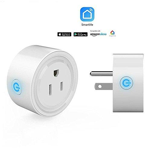 SmartFuture スマートプラグ WiFiアウトレット 家電制御遠隔操...