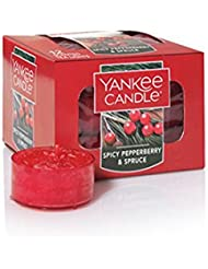 Yankee Candle Spicy Pepperberry & Spruceティーライトキャンドル