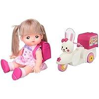 メルちゃん お人形セット いちねんせいメルちゃん  うさぎさんバイクセット