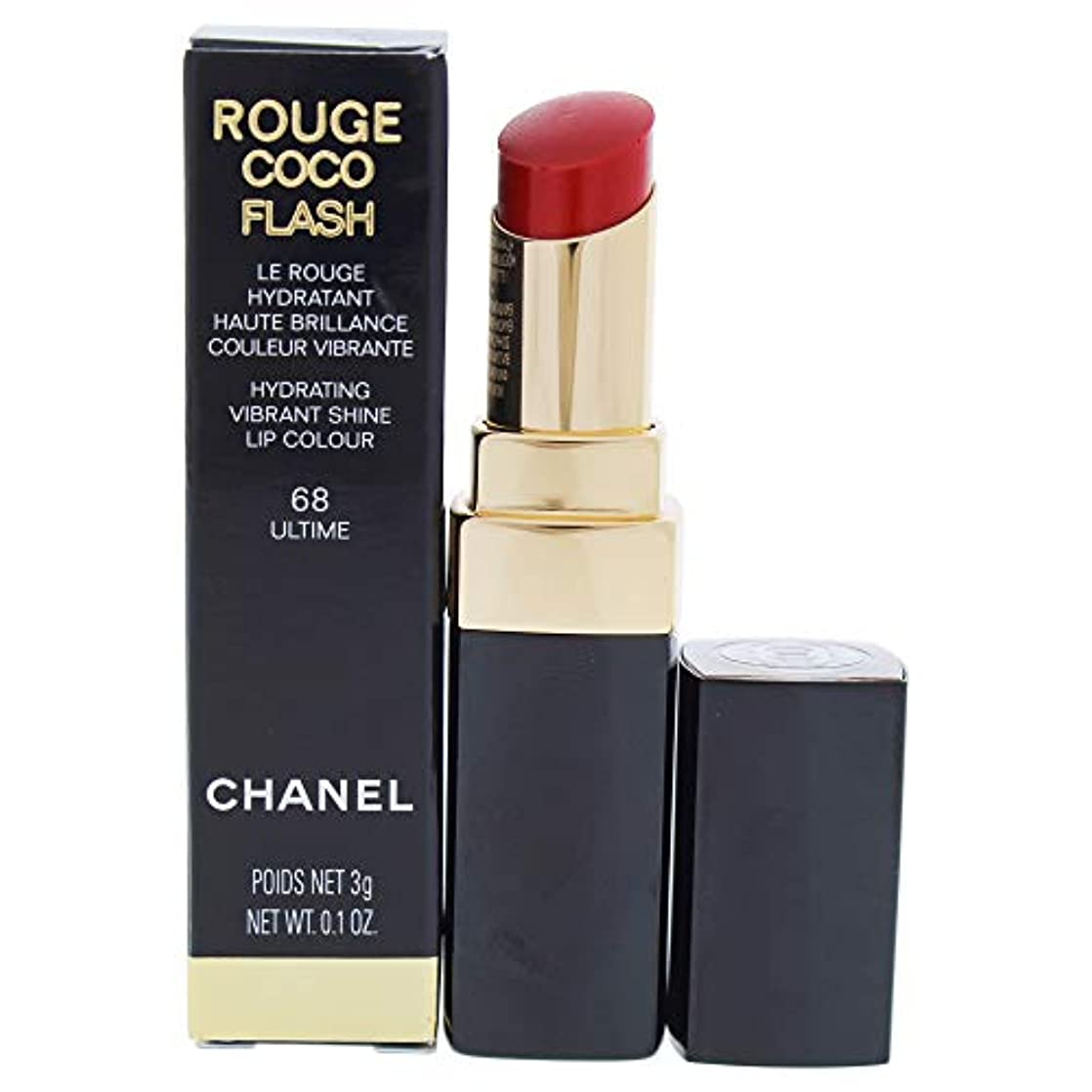 信頼できるおとなしい完全に乾くRouge Coco Flash Lipstick - 68 Ultime