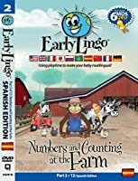 Early Lingo Numbers and Counting at The Farm DVD (Part 2 Spanish) [並行輸入品]